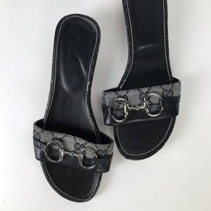 Gucci Sandals Slides Small Heel Size 6 /6,5 *Read